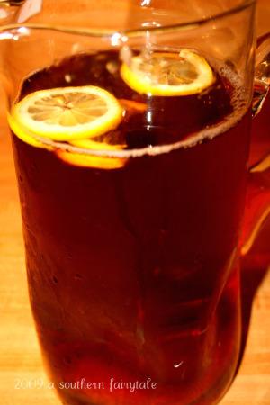 Pitcher of Sweet Tea