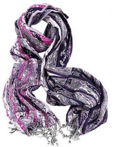 Chick Downtown - Pink Mist Scarf