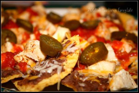 nachos up close