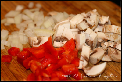 mushroom quesadilla ingredients
