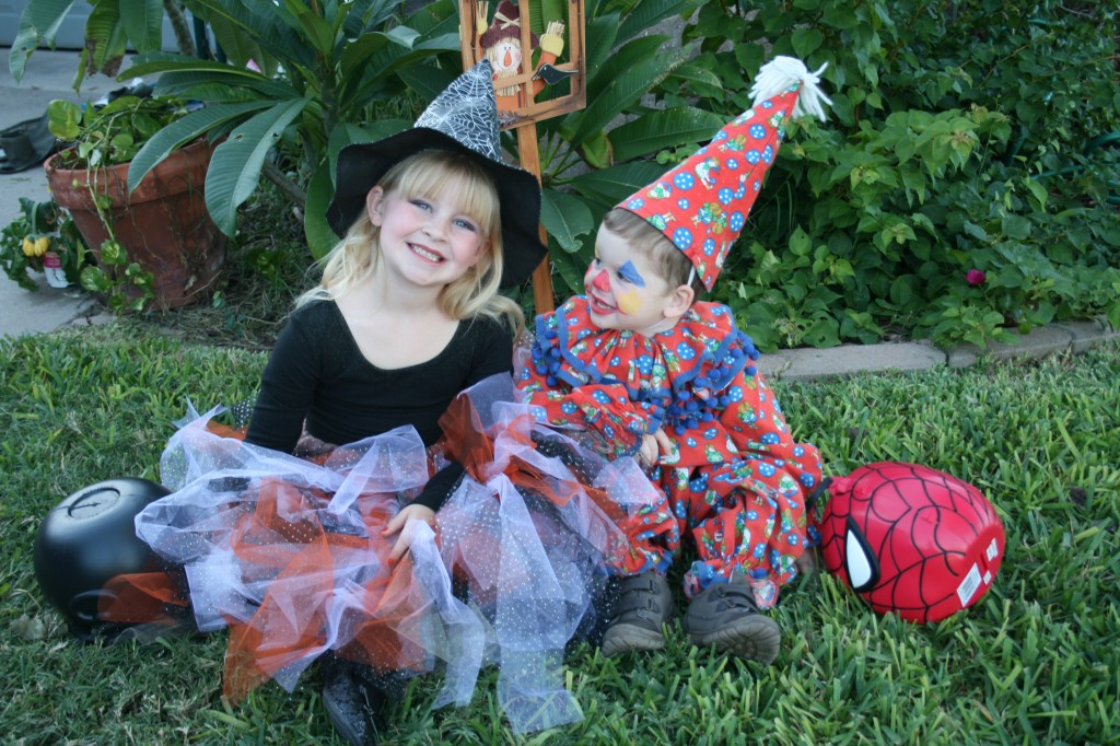 Witch and Clown