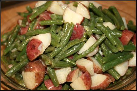 potato and green bean salad 2