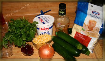 casserole ingredients