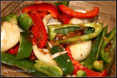 tenderloin veggies
