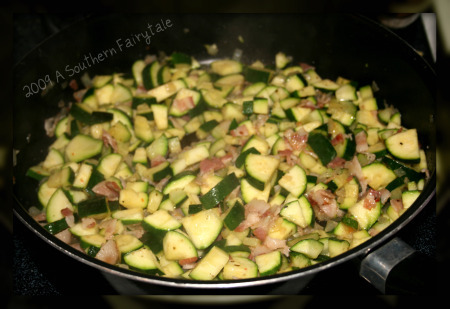 zucchini and bacon