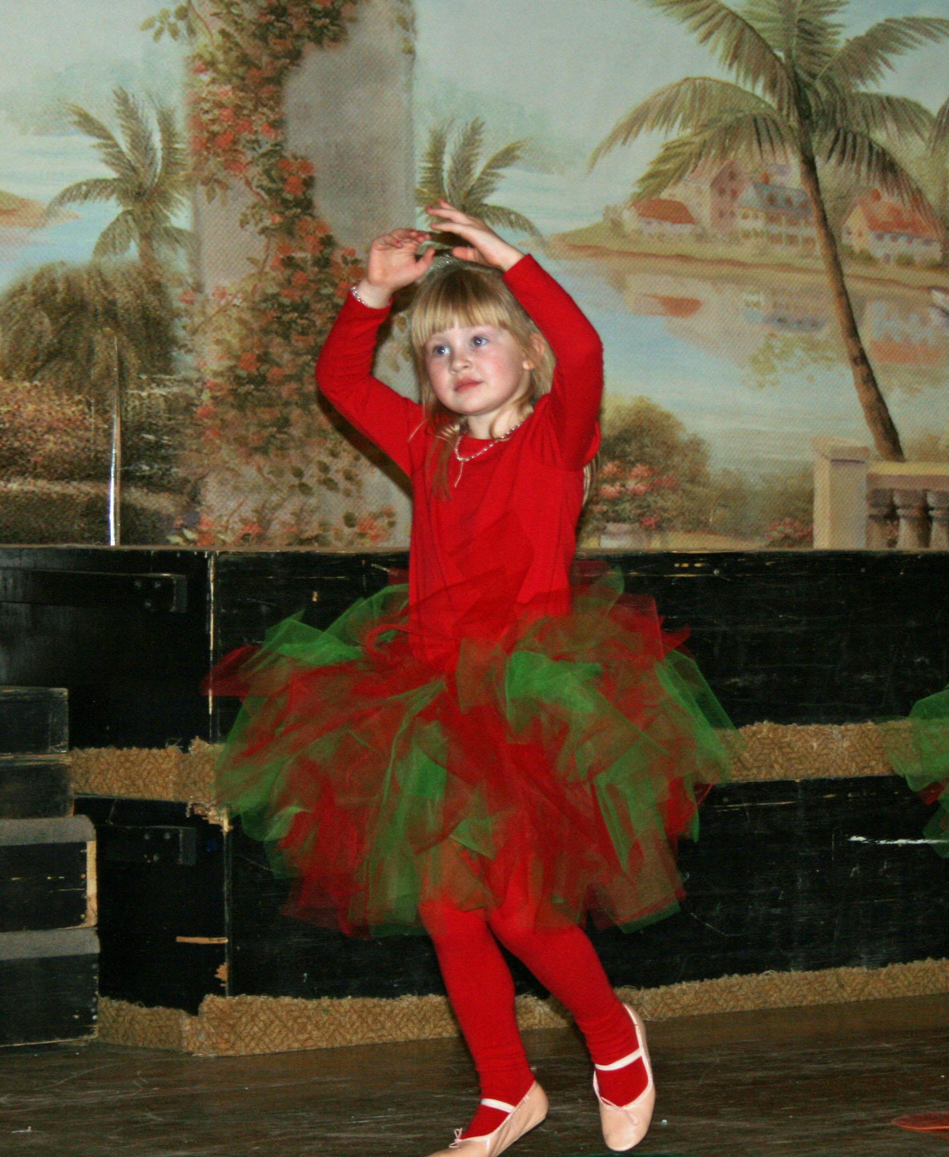 Tutu Cute Christmas Princess