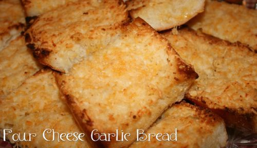 four-cheese-garlic-bread