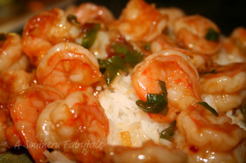 Shrimp Stir Fry with Spicy Orange Sauce and Jasmine Rice - A Southern ...