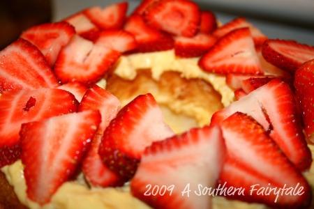 Strawberry Pineapple Summer Cake