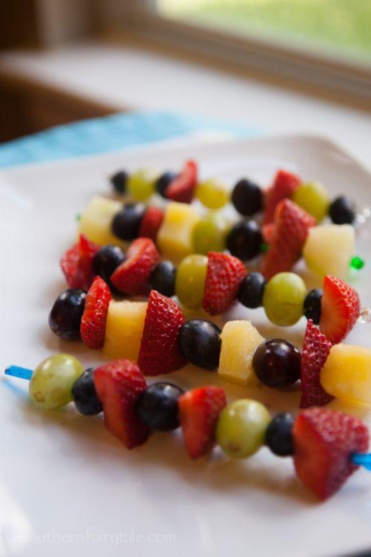 summer fruit kabobs
