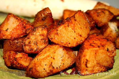 roasted seasoned potatoes