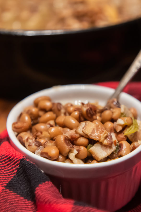 southern style blackeyed peas