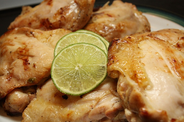Tequila Citrus Chicken Thighs