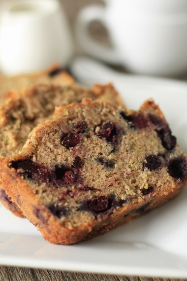 Homemade Blueberry Zucchini Bread - A Southern Fairytale