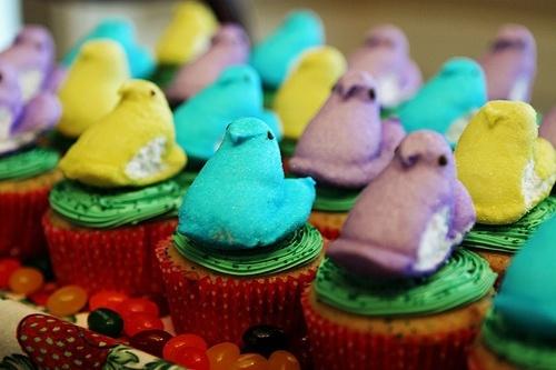 Easter Peep Cakes