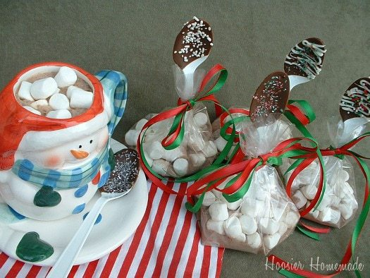 Hot Cocoa Mix for Dipped Chocolate Spoons