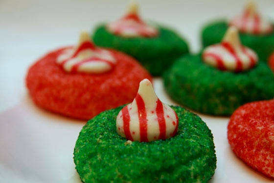 Candy Cane Christmas Butter Cookies