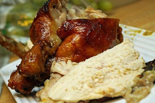 Roasted Honey, Lime, Garlic, Mustard Chicken