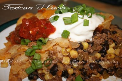 Texican Hash: Mouthwatering Monday