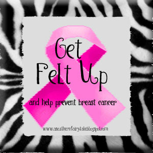 Get Felt Up and Think Pink