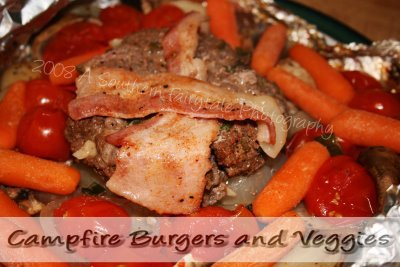 Mouthwatering Monday: Campfire Burgers and Veggies