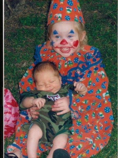 2 Kids, 2 Halloweens, 1 Costume