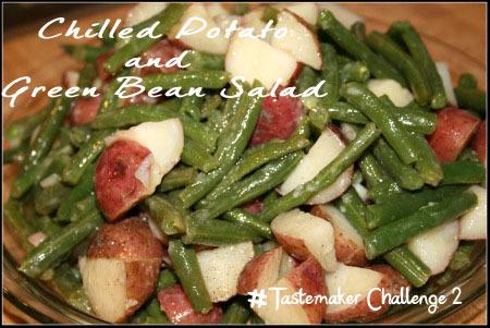 Marinated Chilled Potato and Green Bean Salad