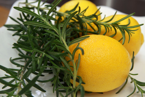 Lemons, Rosemary and a New Design… Oh MY!