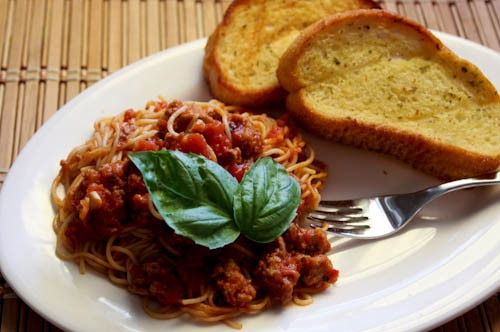Slow Cooker Turkey Spaghetti