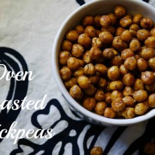 Crispy Oven Roasted Chickpeas