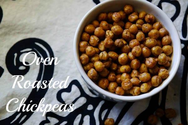 Crispy Oven Roasted Chickpeas