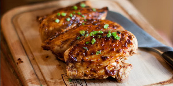 Honey Chipotle Grilled Chicken