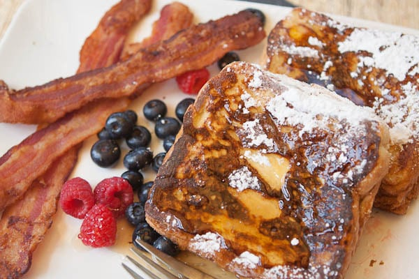 Peanut Butter Stuffed French Toast - A Southern Fairytale