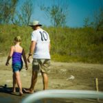Princess and Daddy on the island