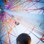 ferris wheel perspective
