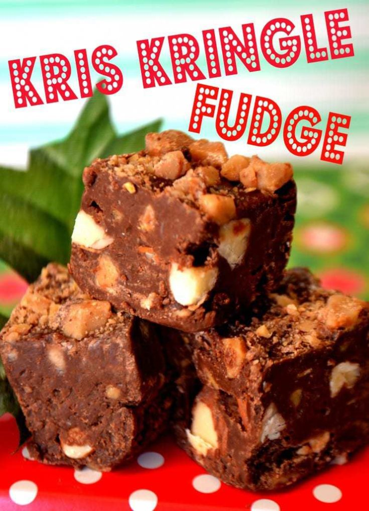 Kris Kringle Fudge