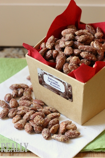 Easy Roasted Cinnamon Almonds