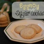 title plated frosted eggnog sugar cookies