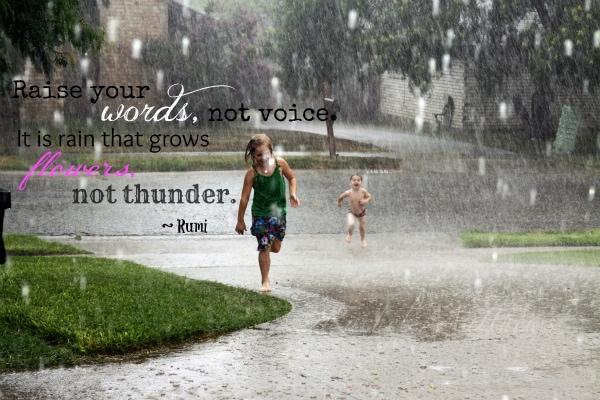rain grows quote