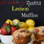 bakery style strawberry lemonade muffins