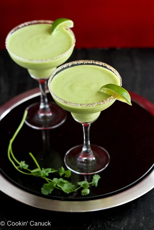 Avocado Margaritas from Cookin' Canuck
