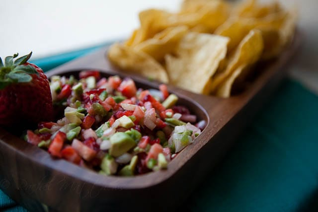 Recipe Girl's Avocado Salsa