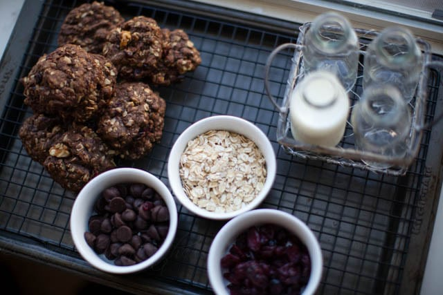 chocolate oatmeal cookie ingredients