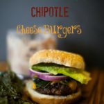 Roasted Poblano Cheddar Burger