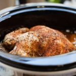 slow cooker chicken roast chicken cooked