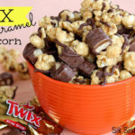 Twix Caramel Popcorn from six Sisters' Stuff