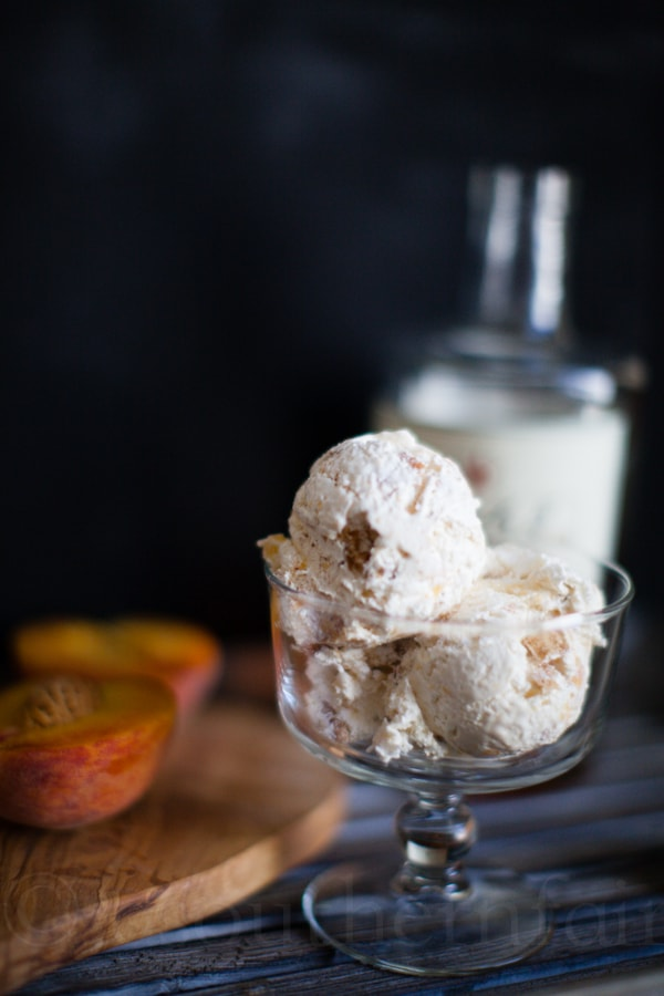Texas Peach Cobbler Ice Cream