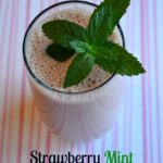 strawberry mint smoothie