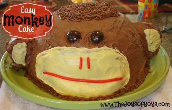 Monkey Cake by The Joy of Boys