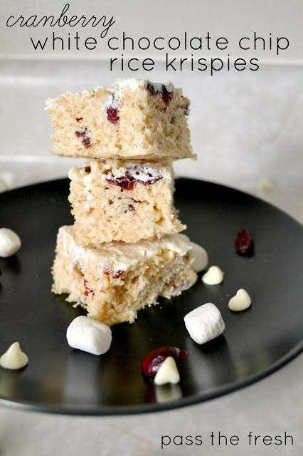Cranberry White Chocolate Chip Rice Krispies1